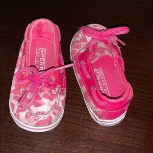Sperry | Pink Cheetah Top-Siders